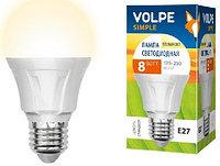 Лампочка Uniel Volpe LED 8W/75W  E27 3000K, фото 1