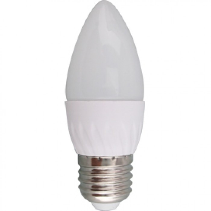 Лампа Светодиодная Лампа  7W свеча Е27 К4000