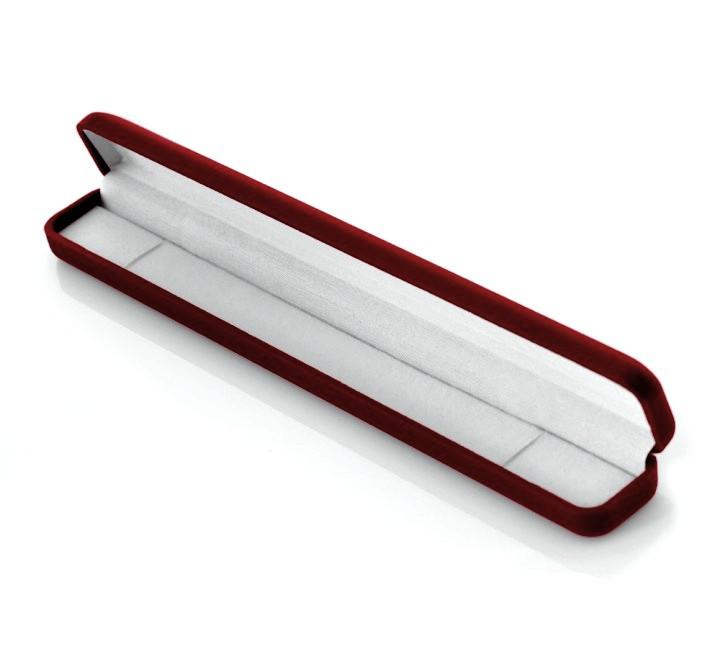 Коробка бархатная для браслетов или ожерелье