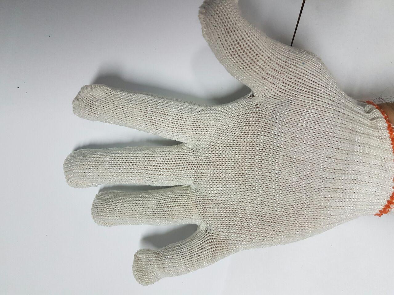 Перчатки ХБ без ПВХ точек