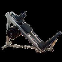 ГАКК-машина - жим ногами под углом 45 Body-Solid GLPH1100 на свободном весе, фото 1