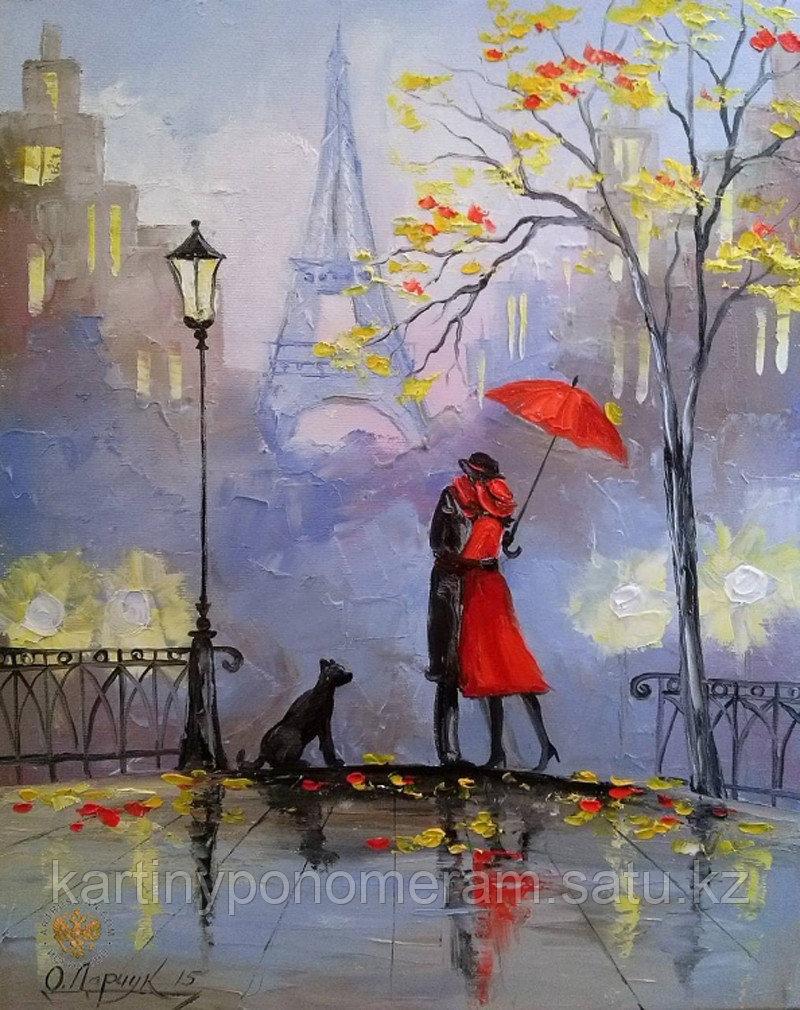 "Картина по номерам ""Французский поцелуй 2"""