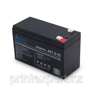 Батарея SVC 12В 7.5 Ач, фото 2
