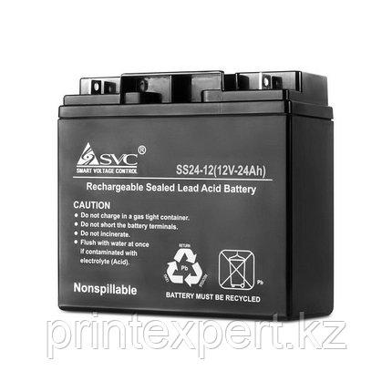 Батарея SVC 12В 24 Ач, фото 2