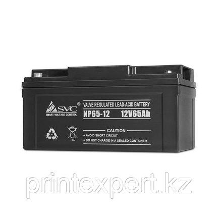 Батарея SVC 12В 65 Ач, фото 2