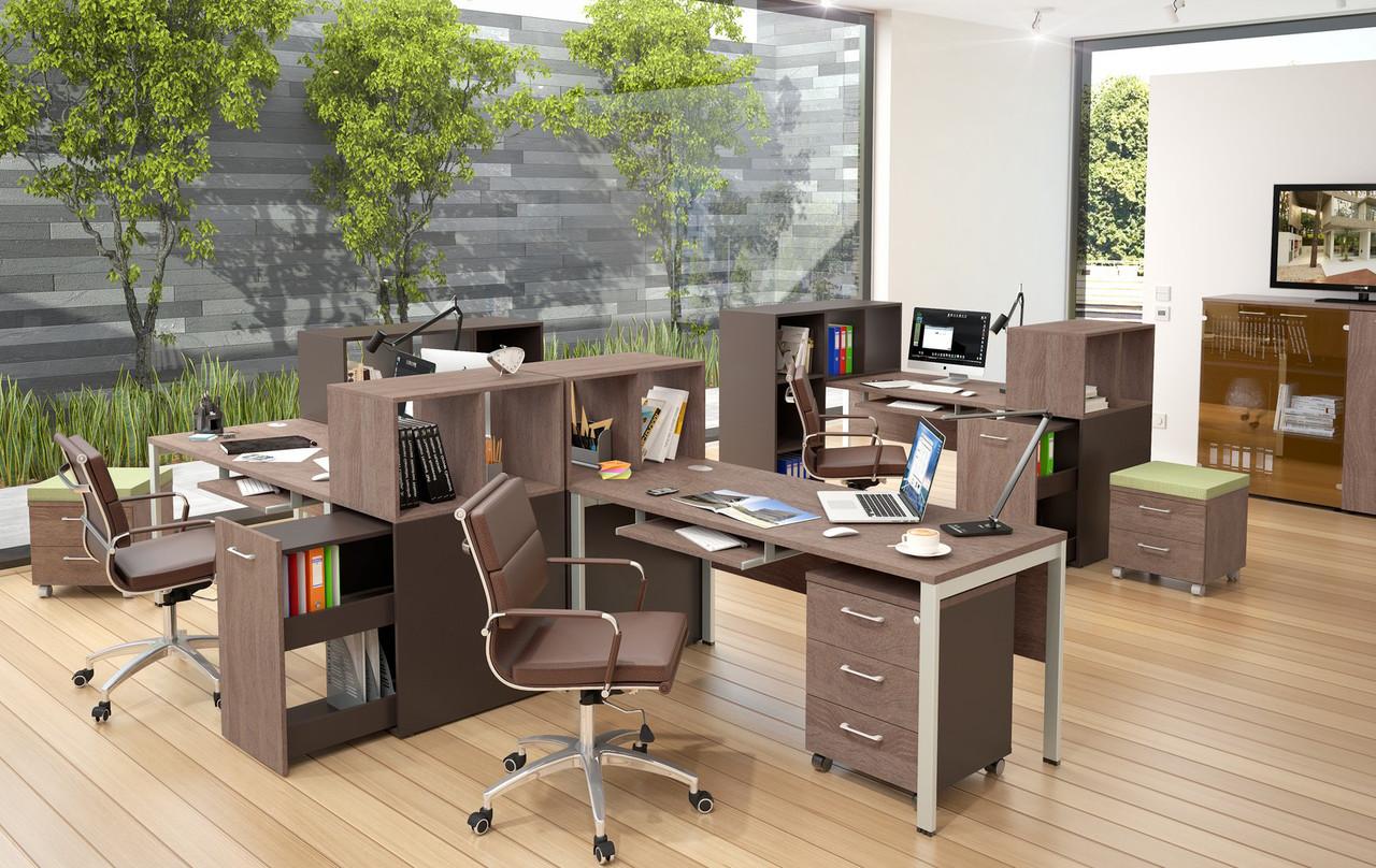 Стол офисный, прямоугольный