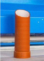 Гофрированная труба с раструбом для канализации
