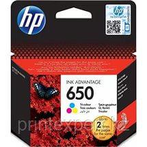 Картридж HP 650 color, фото 2