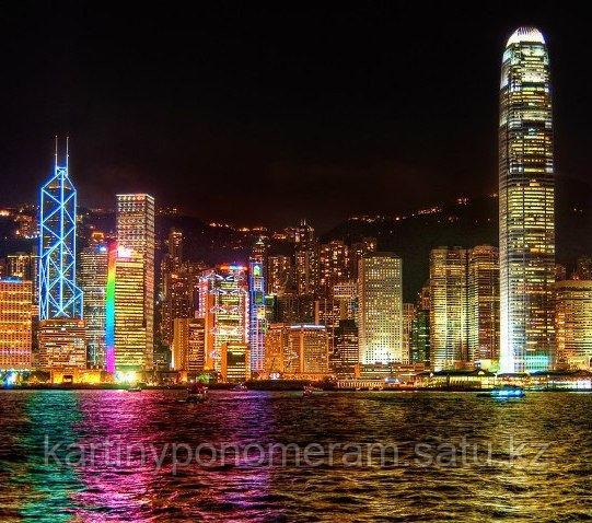 """Картина по номерам """"Ночной Гонконг"""""""