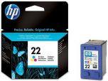 Картридж струйный HP №22 Tri-color