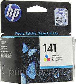 Картридж струйный HP №141 Tri-color