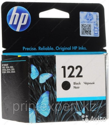 HP CH561HE Black Ink Cartridge №122 for Deskjet 1050/2050/2050s, up to 120 pages. ;, фото 2