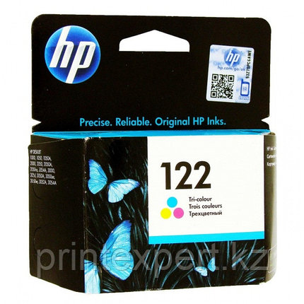 HP CH562HE Tri-color Ink Cartridge №122 for Deskjet 1050/2050/2050s, up to 100 pages. ;, фото 2