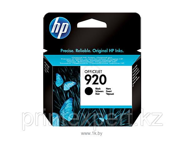 Картридж струйный HP №920 Black
