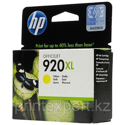Картридж струйный HP №920 Yellow, фото 2