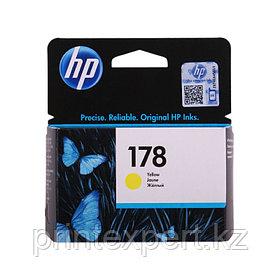Картридж струйный HP №178 Yellow