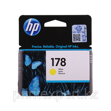 HP CB320HE Yellow Ink Cartridge №178 for PhotoSmart C6383/8553/D5463/C5383, up to 250 pages. ;, фото 2