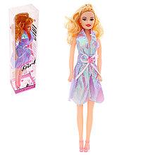 Кукла в платье в кор. цвета МИКС №1849-3 735166