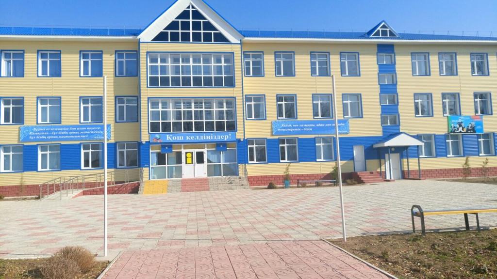 Поставлены интерактивные системы в школу № 7 им. А. Тургумбаева, с. Мерке.