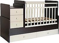 Детская кровать-трансформер Фея 1100 венге-бежевый, фото 1