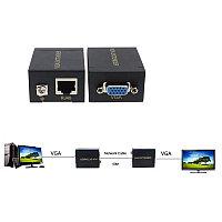Удлинитель VGA по витой паре до 60 метров по одному UTP (Extender)