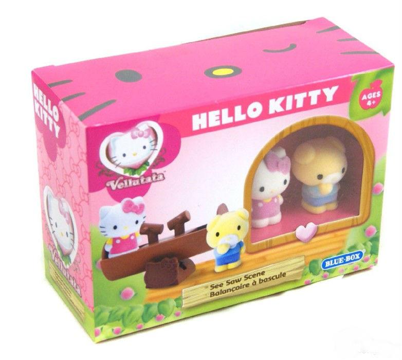 """Игровой набор """"Веселые качели""""  Hello Kitty 1265139"""