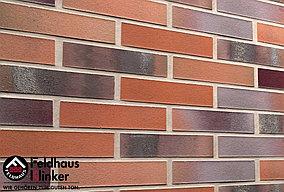 """Клинкерная плитка """"Feldhaus Klinker"""" для фасада и интерьера R560 carbona carmesi colori"""