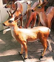 Скульптура Косуля самец маленький