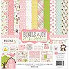 Набор бумаги Bundle Of Joy/A New Addition - Baby Girl