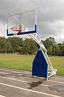 Баскетбольная стойка мобильная складная, вынос 1,6 м