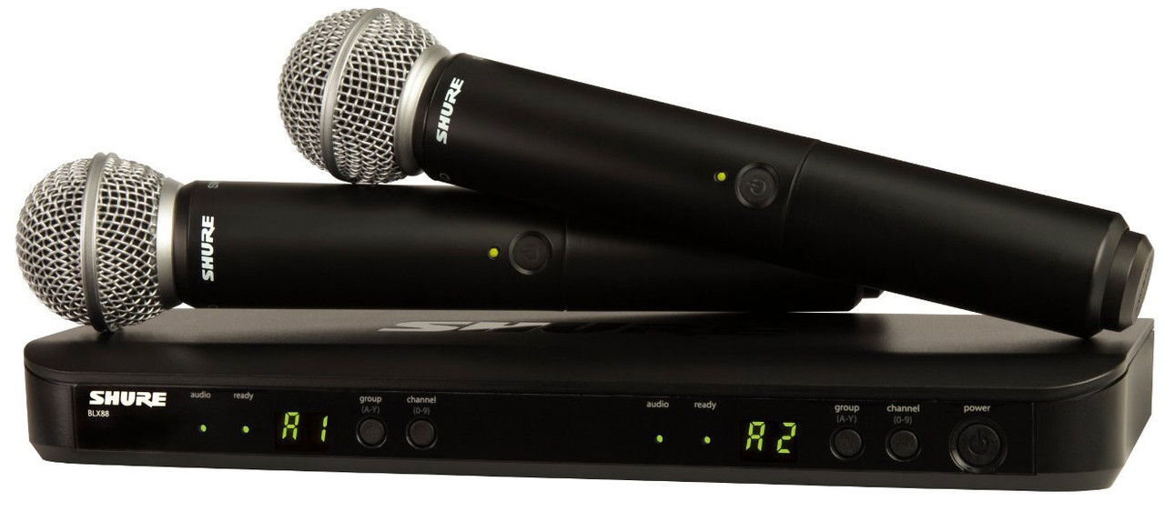 Радиомикрофон SHURE BLX288E/PG58 K3E