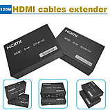 HDMI Extender over Ethernet (120m) удлинитель HDMI до 120м, фото 2