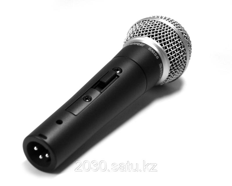 Шнуровой микрофон Shure SM58 - LCE