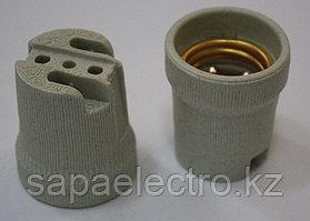 Патрон для ламп , Е27, керамика, без провода, Алматы
