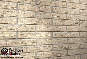 """Клинкерная плитка """"Feldhaus Klinker"""" для фасада и интерьера R116 perla mana"""