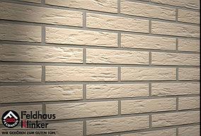 """Клинкерная плитка """"Feldhaus Klinker"""" для фасада и интерьера R140 perla senso"""
