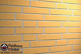 """Клинкерная плитка """"Feldhaus Klinker"""" для фасада и интерьера R201 classic"""