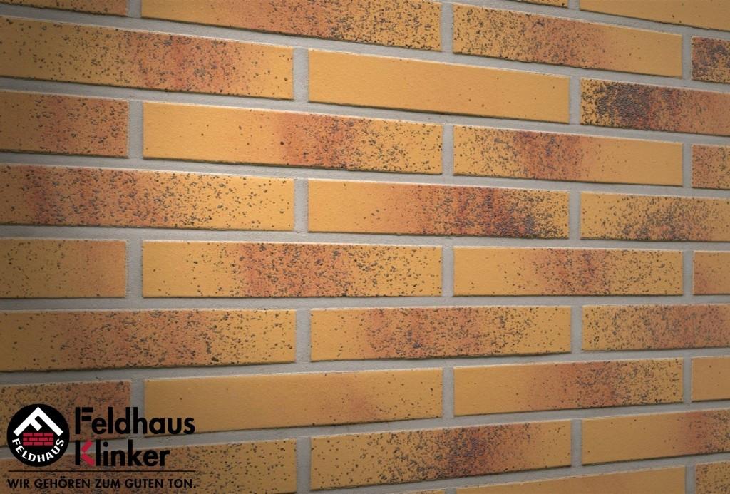"""Клинкерная плитка """"Feldhaus Klinker"""" для фасада и интерьера R209 classic"""