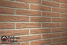 """Клинкерная плитка """"Feldhaus Klinker"""" для фасада и интерьера R214 bronze mana"""