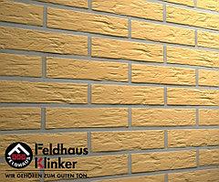 """Клинкерная плитка """"Feldhaus Klinker"""" для фасада и интерьера R240 amari senso"""