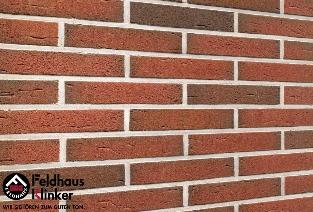 """Клинкерная плитка """"Feldhaus Klinker"""" для фасада и интерьера R307 ardor rustico"""