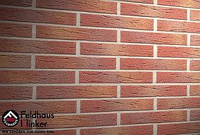 """Клинкерная плитка """"Feldhaus Klinker"""" для фасада и интерьера R332 carmesi multi mana"""