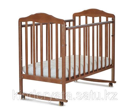 Кровать детская СКВ Митенька New, Орех