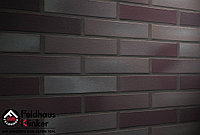 """Клинкерная плитка """"Feldhaus Klinker"""" для фасада и интерьера R384 ferrum liso"""