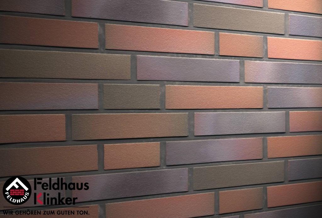 """Клинкерная плитка """"Feldhaus Klinker"""" для фасада и интерьера R385 cerasi mariti"""