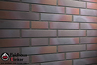 """Клинкерная плитка """"Feldhaus Klinker"""" для фасада и интерьера R386 cerasi maritim negro"""