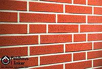 """Клинкерная плитка """"Feldhaus Klinker"""" для фасада и интерьера R401 carmesi rugo, фото 1"""