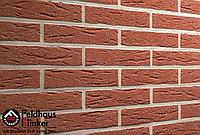 """Клинкерная плитка """"Feldhaus Klinker"""" для фасада и интерьера R435 carmesi mana, фото 1"""