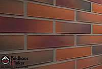 """Клинкерная плитка """"Feldhaus Klinker"""" для фасада и интерьера R489 terreno rosato"""