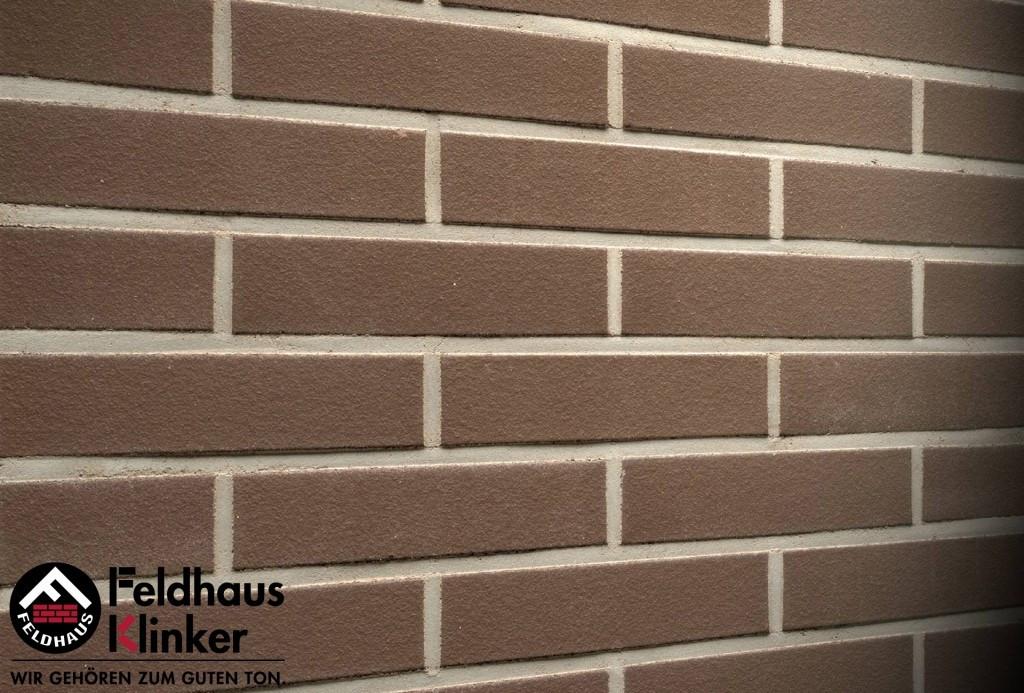 """Клинкерная плитка """"Feldhaus Klinker"""" для фасада и интерьера R500 geo liso"""